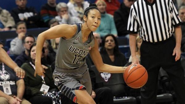 Saniya Chong scores 18 in her first start of season as No. 1 UConn routs Tulsa 95-35