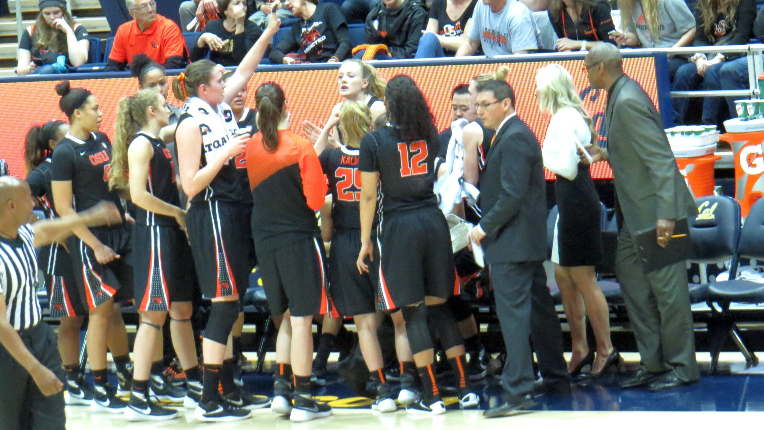 No. 7 Oregon State rebounds from loss, overcomes upset-minded Cal to earn share of Pac-12 title