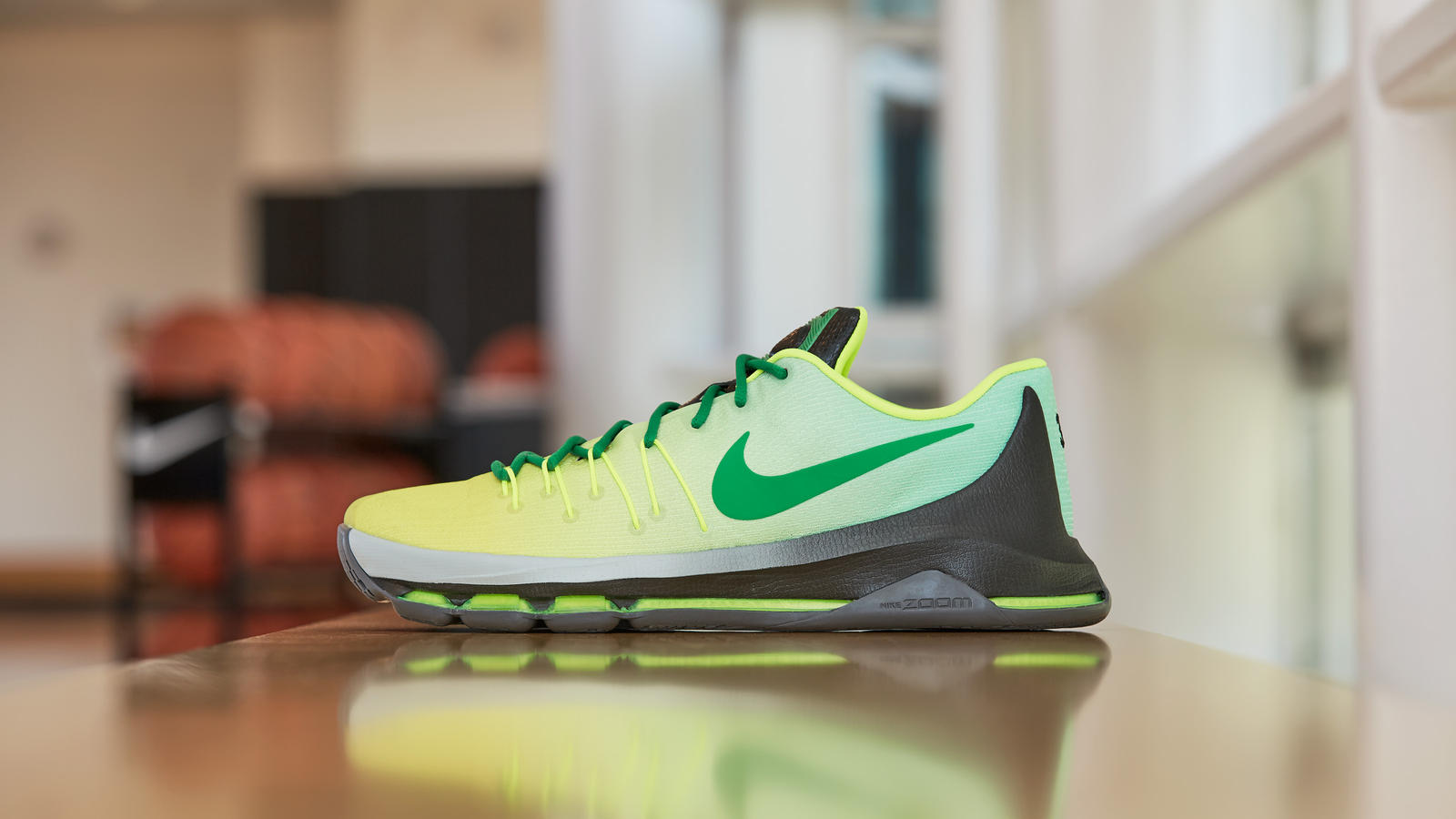 Nike creates KD8 NIKEiD for Breanna Stewart featuring Seattle Storm colors