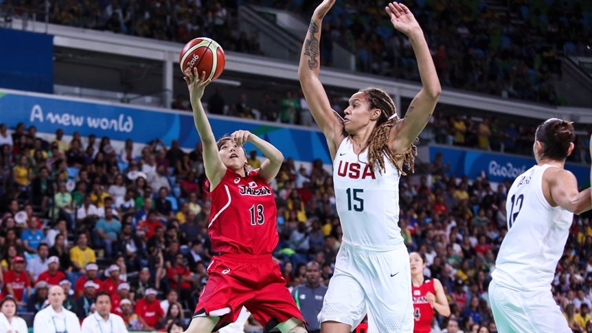 U.S. Sets Another Record In 110-64 Quarterfinal Win Over Japan