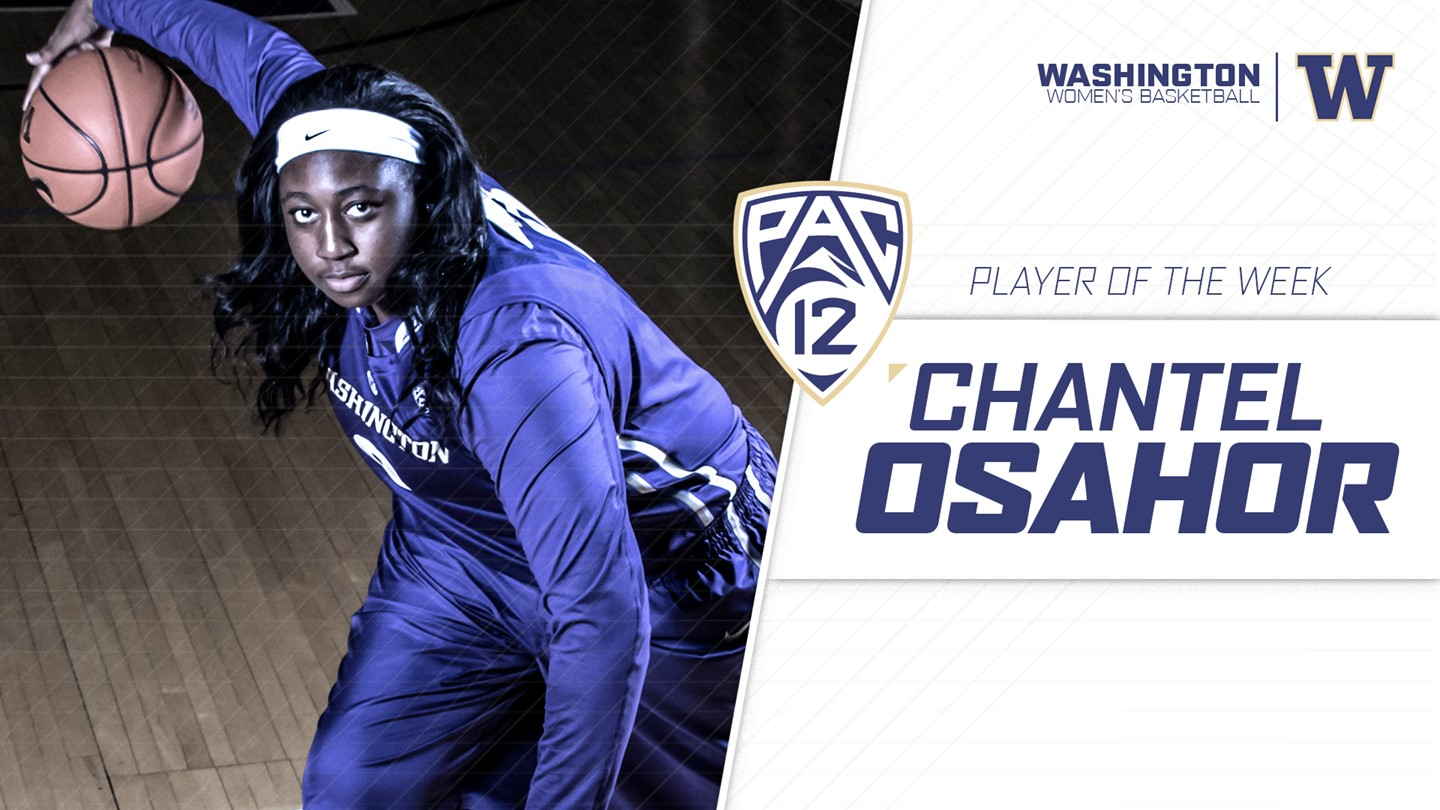 Triple-double fest for Pac-12 Player and Freshman of the Week: Chantel Osahor and Sabrina Ionescu