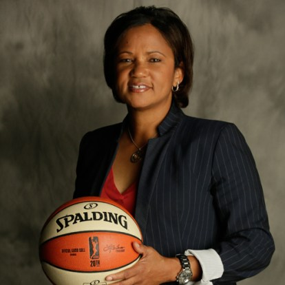 Pokey Chatman. Photo: Indiana Fever.