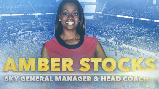 Chicago Sky hires Amber Stocks as head coach and general manager