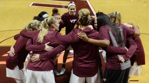 Virginia Tech remains undefeated at 12-0. Image: Virginia Tech Athletics.