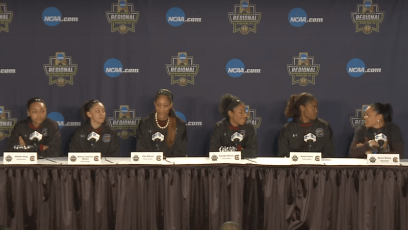 Video: South Carolina ready for the challenge of Florida State in Elite Eight