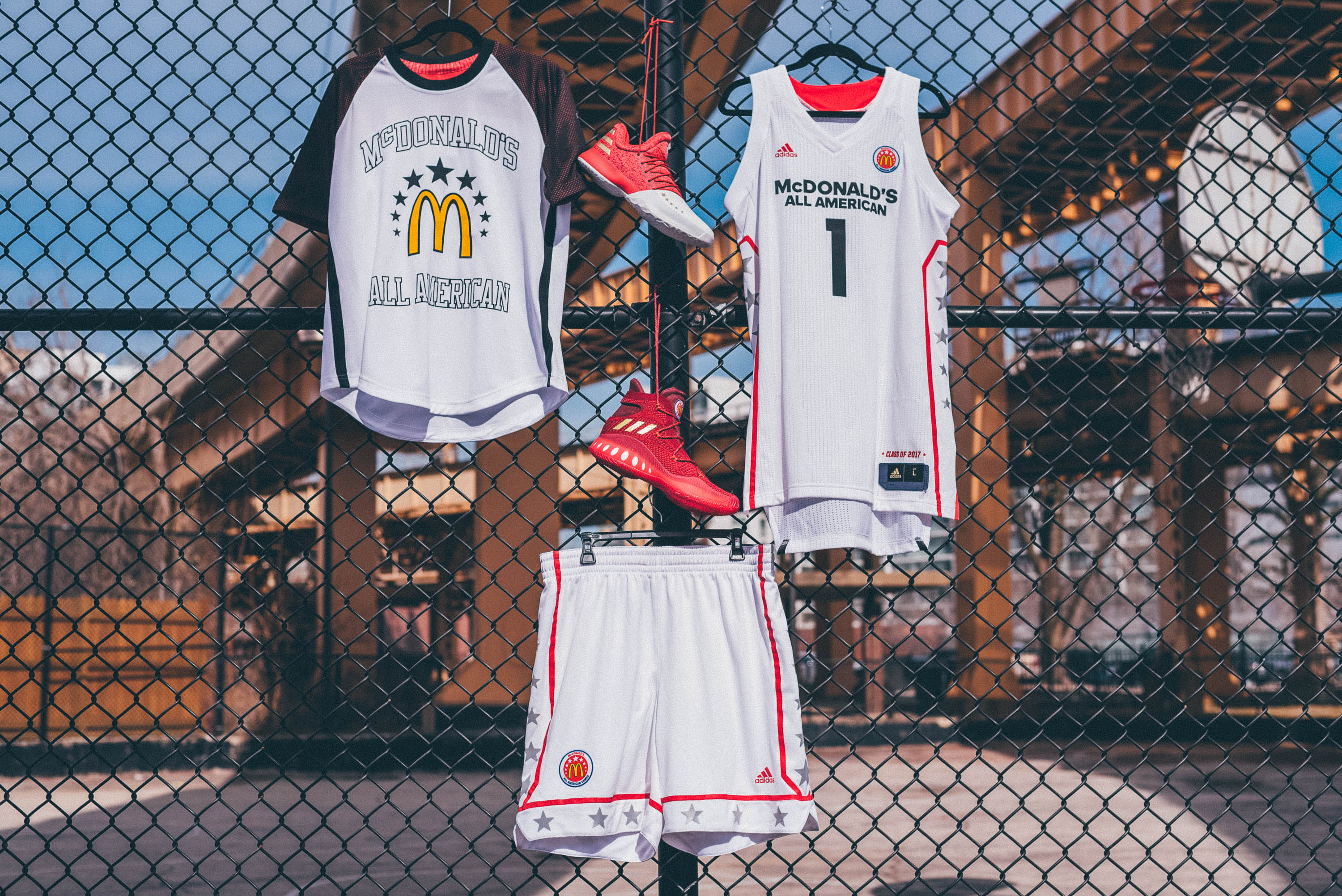 e95b1cfe3 Girl s West Jersey for McDonald s All American Games. Girl s JamFest Jersey  for McDonald s All American Games. Adidas unveiled ...