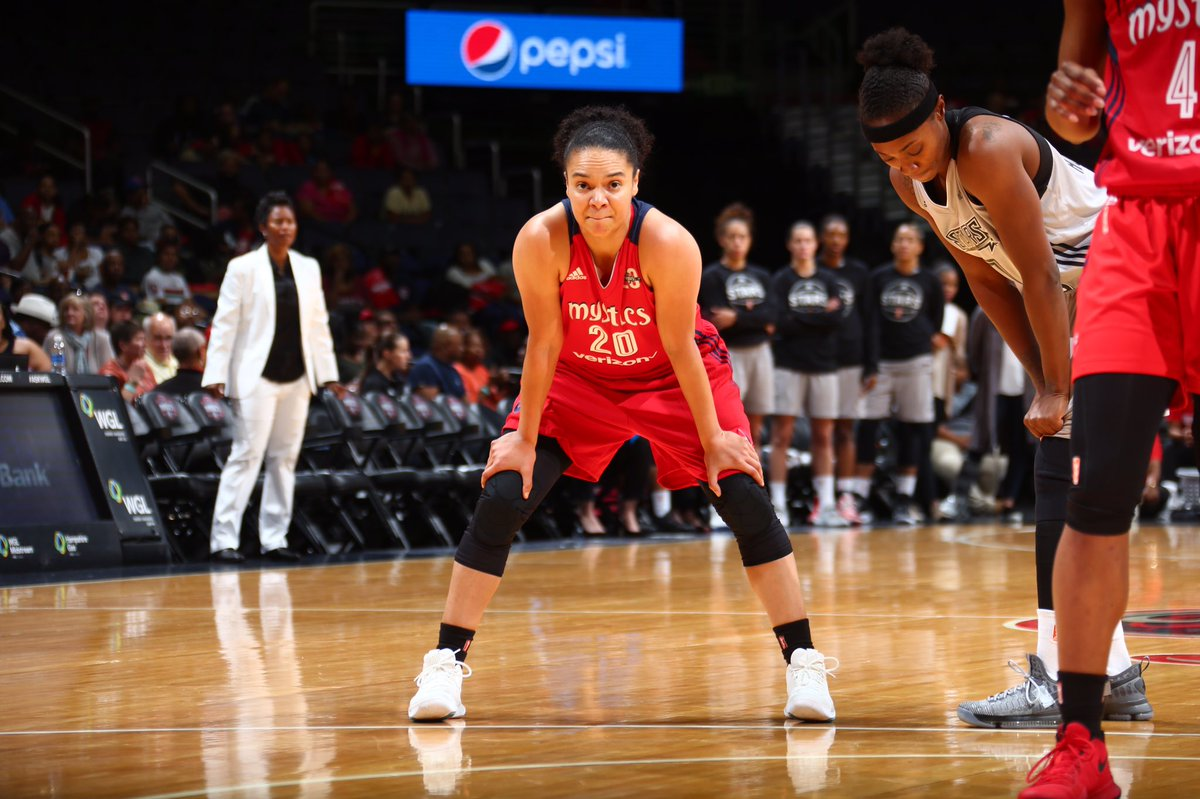 Mystics optimistic as they begin three-game road trip at Sparks