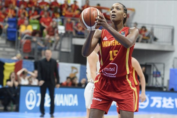 Angel Robinson. Photo: FIBA.