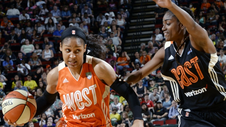 Maya Moore leads the West with 23 points in 2017 All-Star Game for 130-121 win