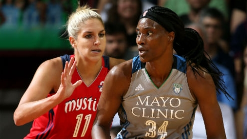 Lynx and Sparks are 2-0 in semifinals, Mystics and Mercury on verge of elimination