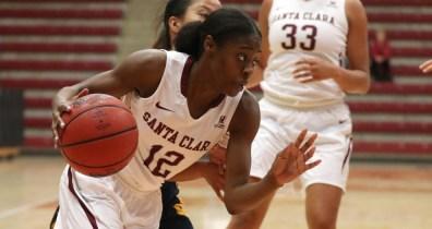Kyla Martin. Photo: Santa Clara Athletics.