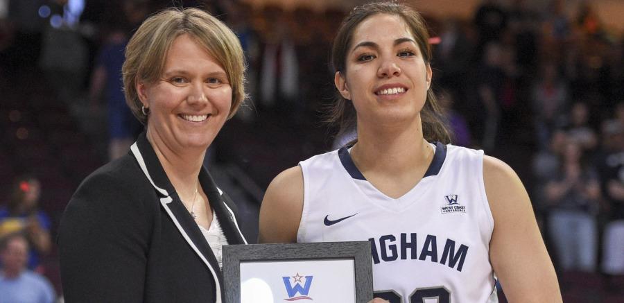WCC commissioner Lynn Holzman named the NCAA vice president of women's basketball