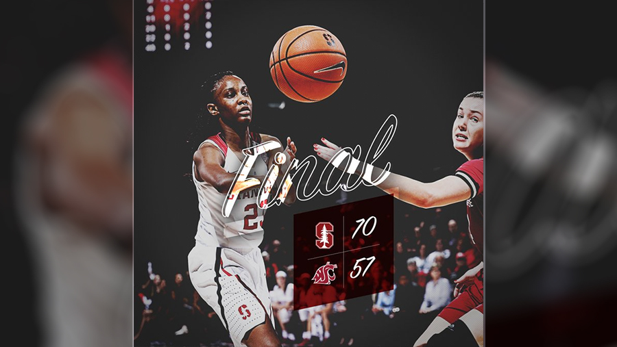 Stanford tops Washington State, 70-57, increases streak against Cougars to 63-0