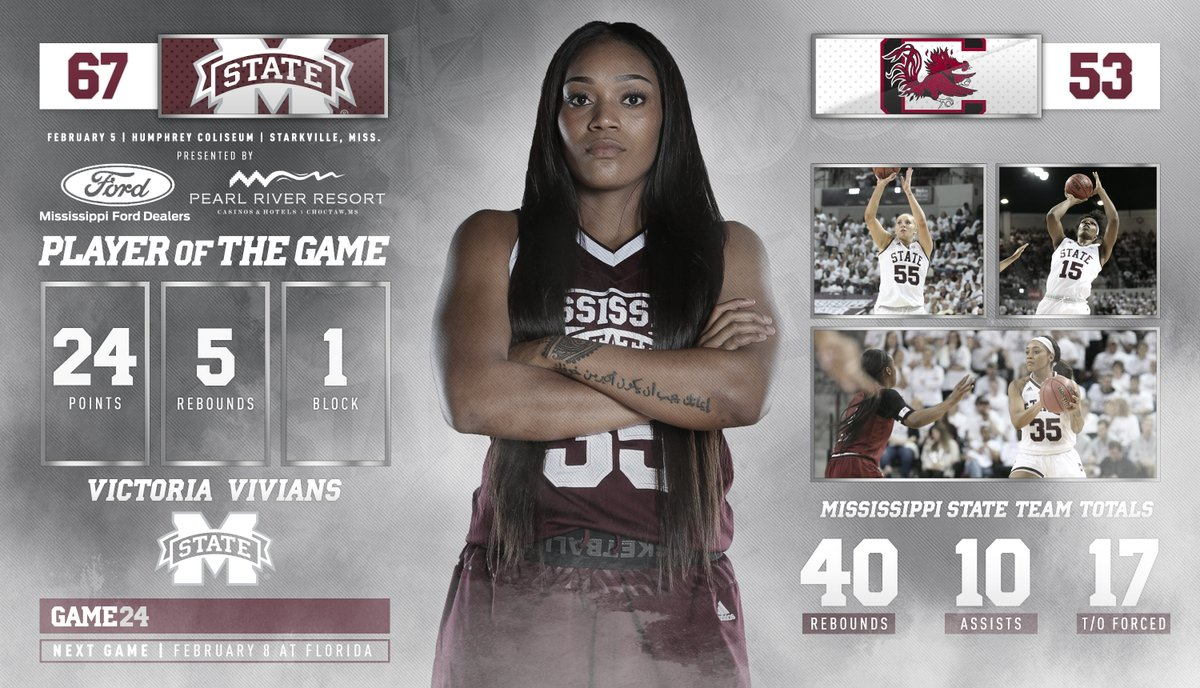 Mississippi State avenges title loss against foe South Carolina to stay undefeated
