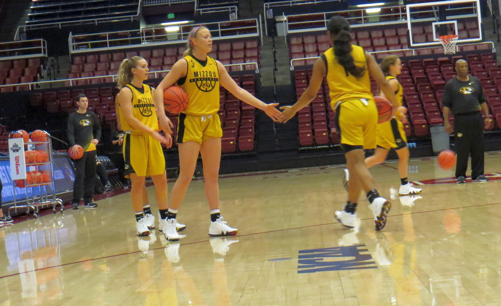 Missouri coach Robin Pingeton and star Sophie Cunningham amped for matchup vs. FGCU in NCAA first round