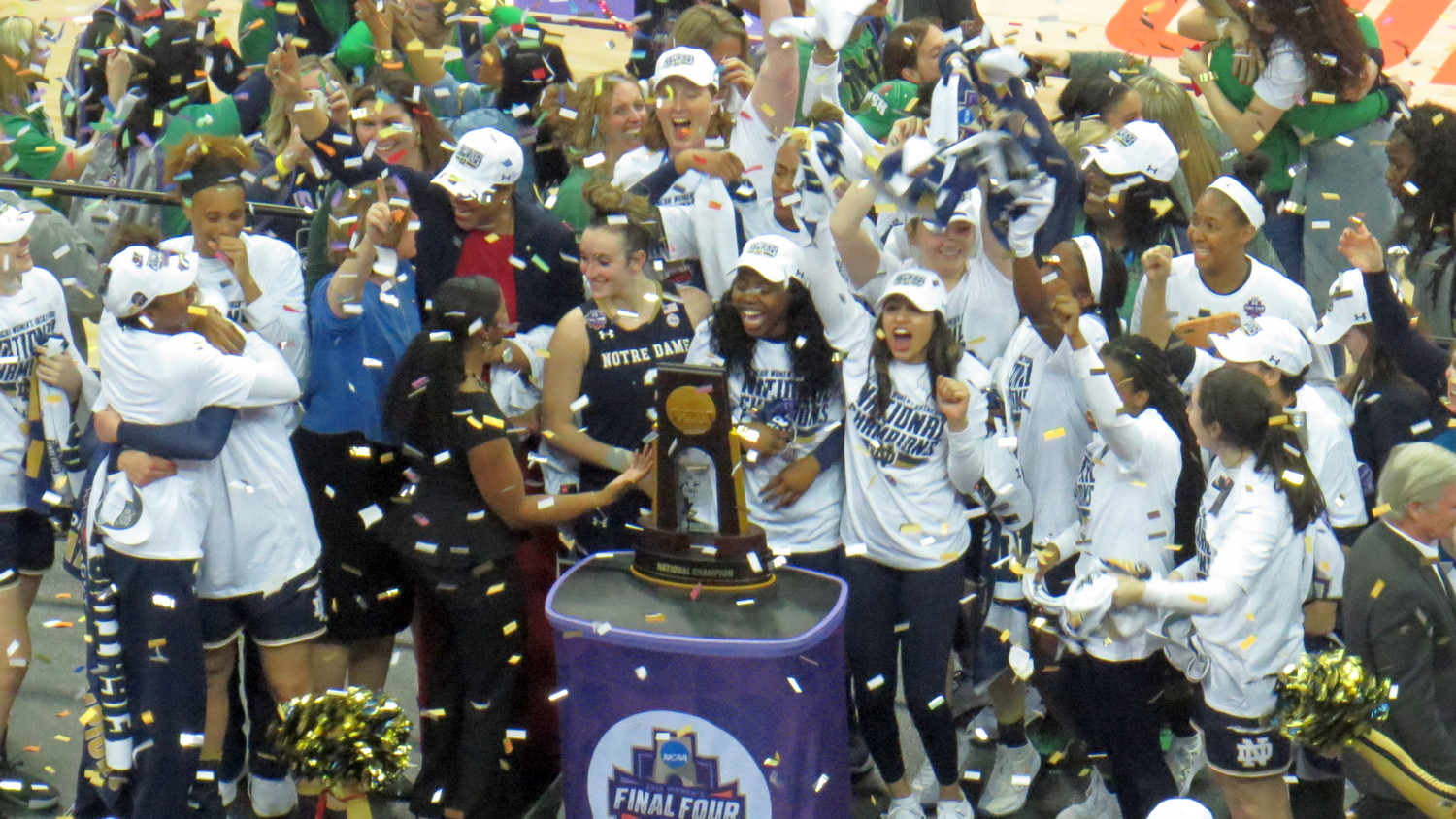 From Good Friday to Easter Sunday, Final Four ride for Notre Dame ends in championship win over Mississippi State, 61-58