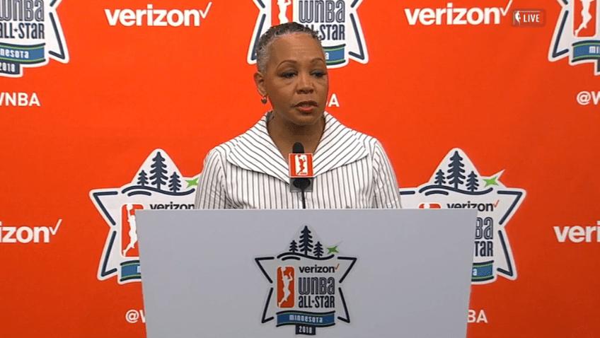 Lisa Borders steps down as WNBA president