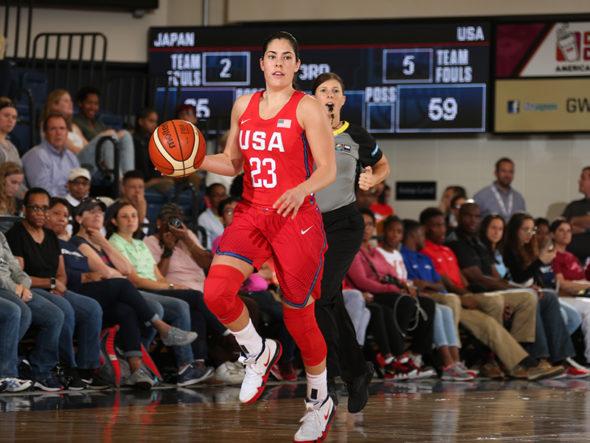 Kelsey Plum. Photo: USA Basketball.