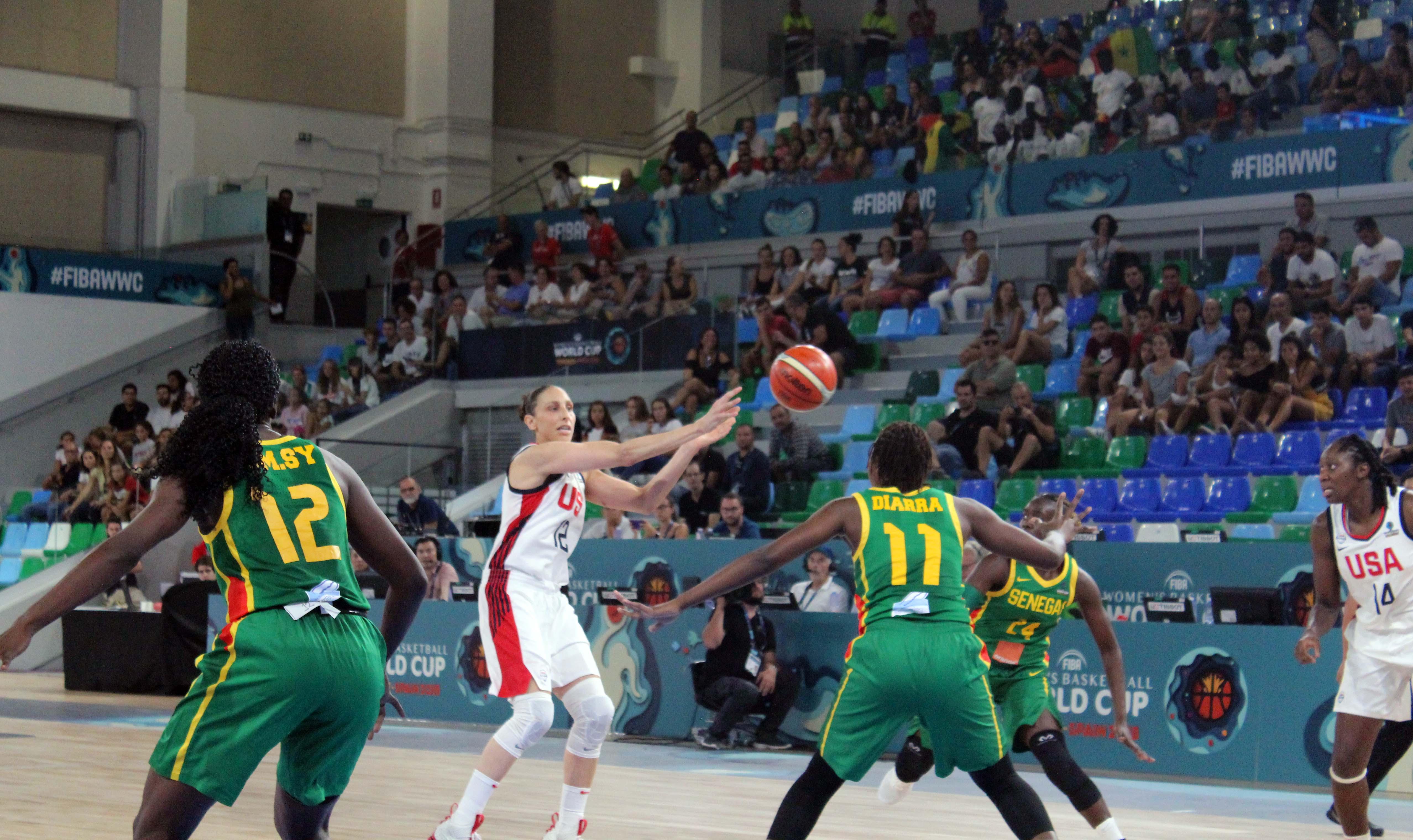 USA tops tough Senegal in FIBA World Cup opener, 87-67