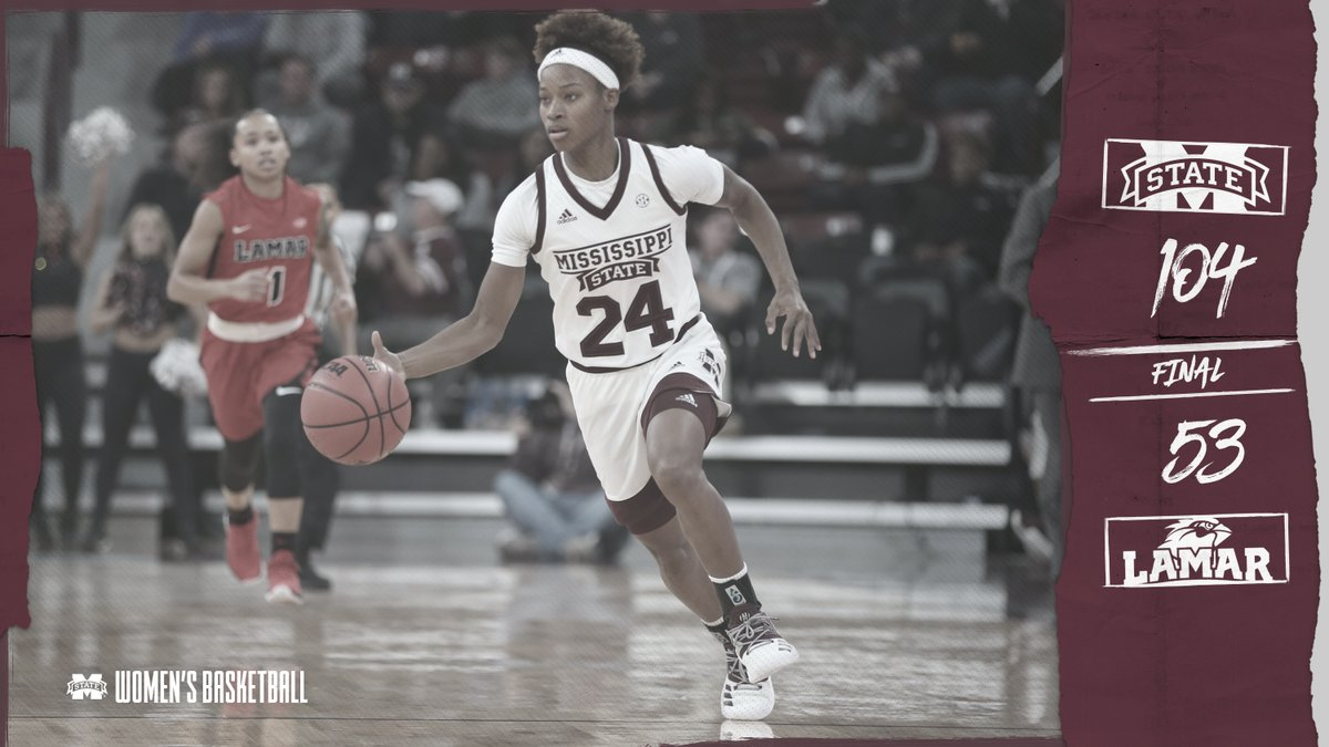 Mississippi State surges past Lamar in second half for 104-53 win