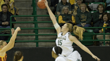 Baylor's Lauren Cox. Photo: Baylor Athletics.