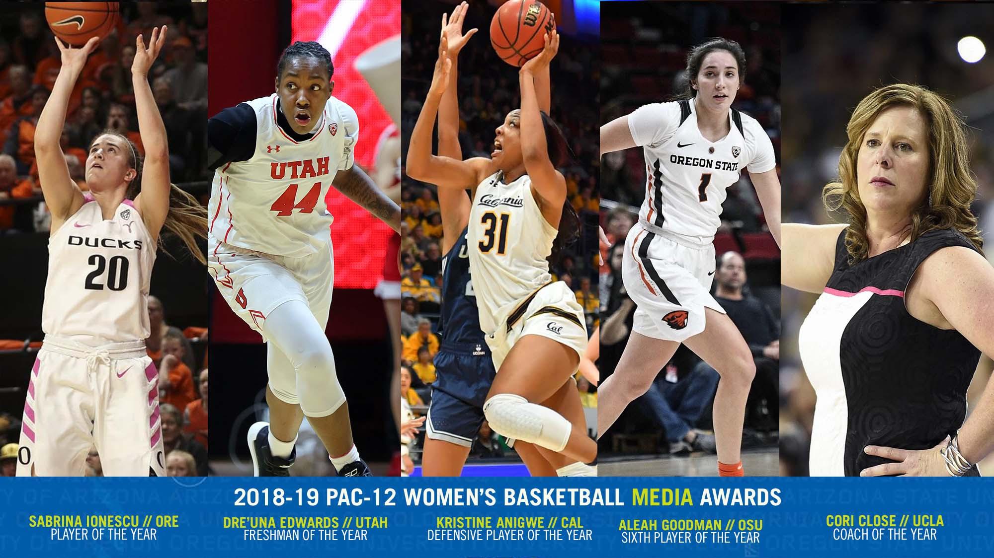 Pac-12 Postseason Awards announced: Media tab UCLA's Cori Close as Coach of the Year