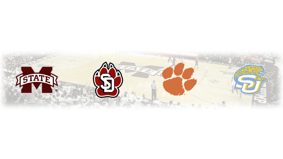 Starkville action: South Dakota and Clemson set to battle while No.1 seed Mississippi State takes on Southern