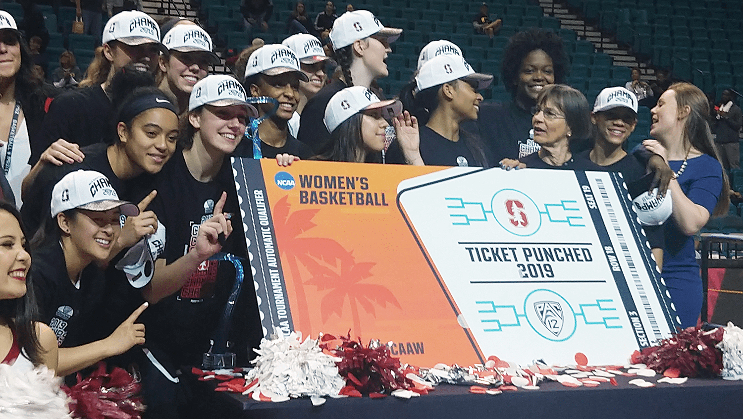 Cardinal payback: Stanford avenges regular season loss to Oregon with conference tournament title