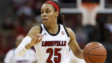 Asia Durr. Photo: Louisville Athletics.