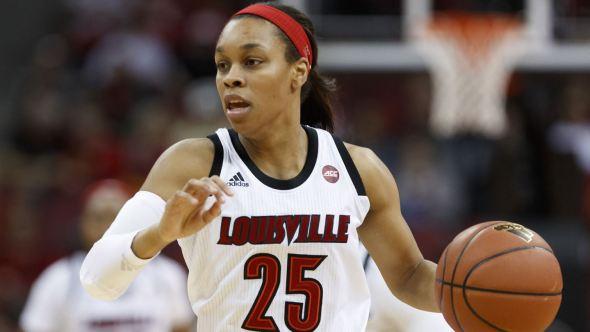 Asia Durr. Photo: Louisville Athletics.