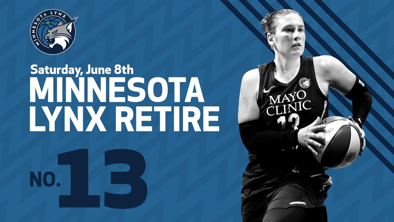 Minnesota Lynx to retire Lindsay Whalen's jersey