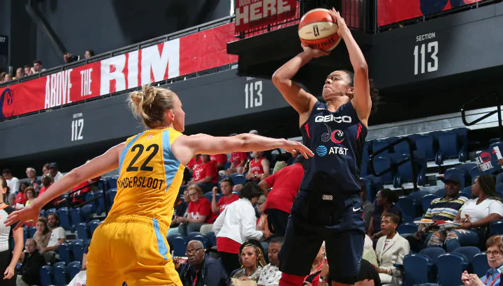 Washington cruises past Chicago 103-85 before Meesseman and Mestdagh depart for EuroBasket