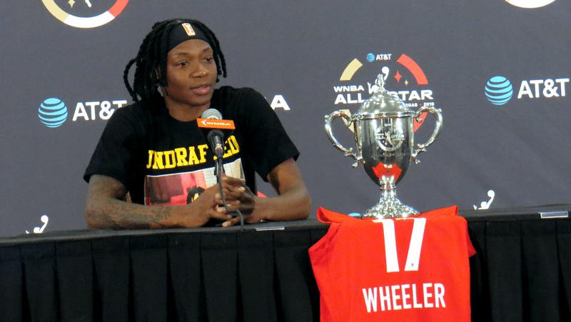 Team Wilson wins 2019 WNBA All-Star Game, Erica Wheeler warms hearts winning MVP honor