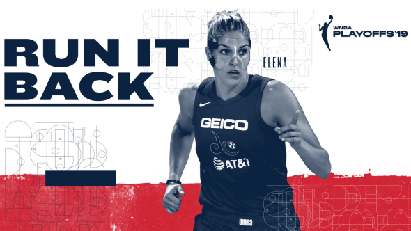 "Washington's ""Run it Back"" promo. Image: Monumental Sports and Entertainment"