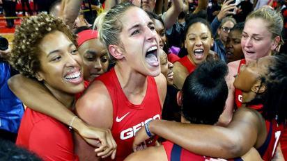 Washington Mystics, 2019 WNBA Champions. Photo: NBAE/Getty Images.