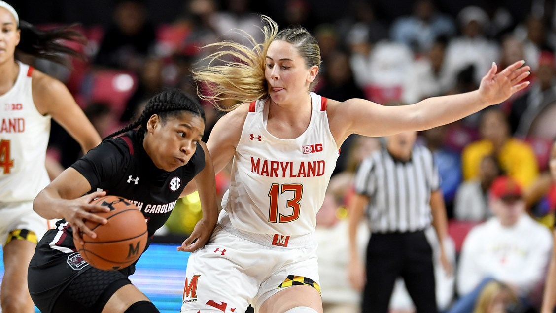 South Carolina's young core prevails as Gamecocks defeat Maryland 63-54