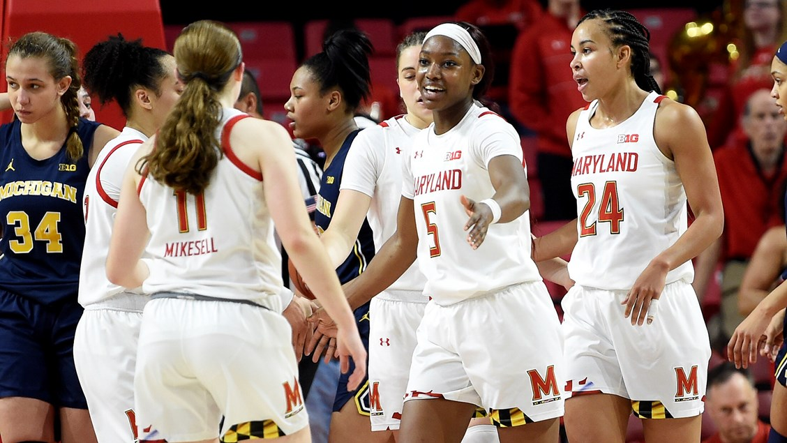 Maryland opens conference slate with 70-55 win over Michigan behind Kaila Charles