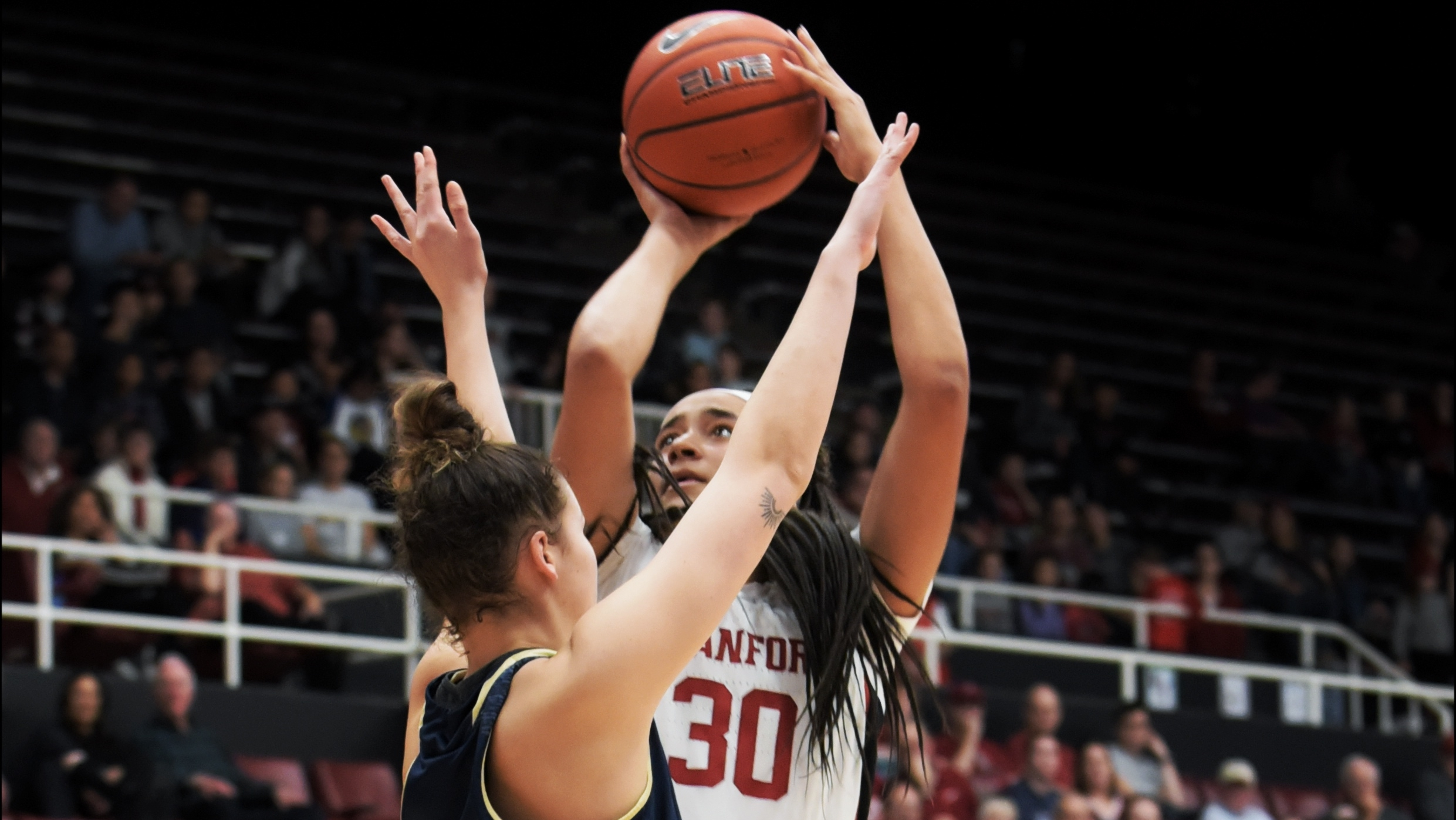 Haley Jones powers Stanford past upset-minded UC Davis, 67-55, with double-double