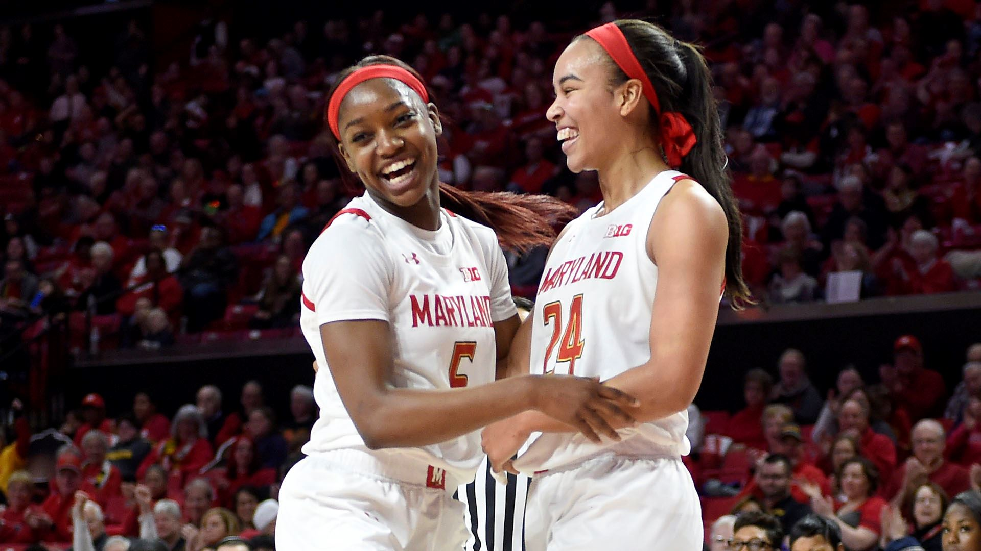 Maryland rolls over Rutgers 79-50 for ninth straight victory