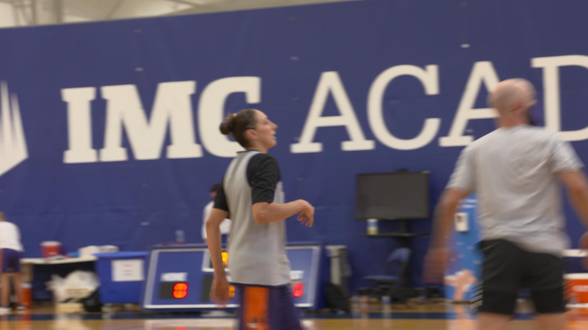 WNBA teams begin to get settled in the bubble, focused on practice and conditioning