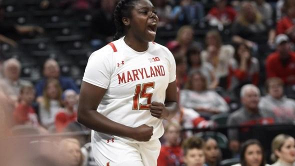 Maryland sophomore Ashley Owusu. Photo: Maryland Athletics.