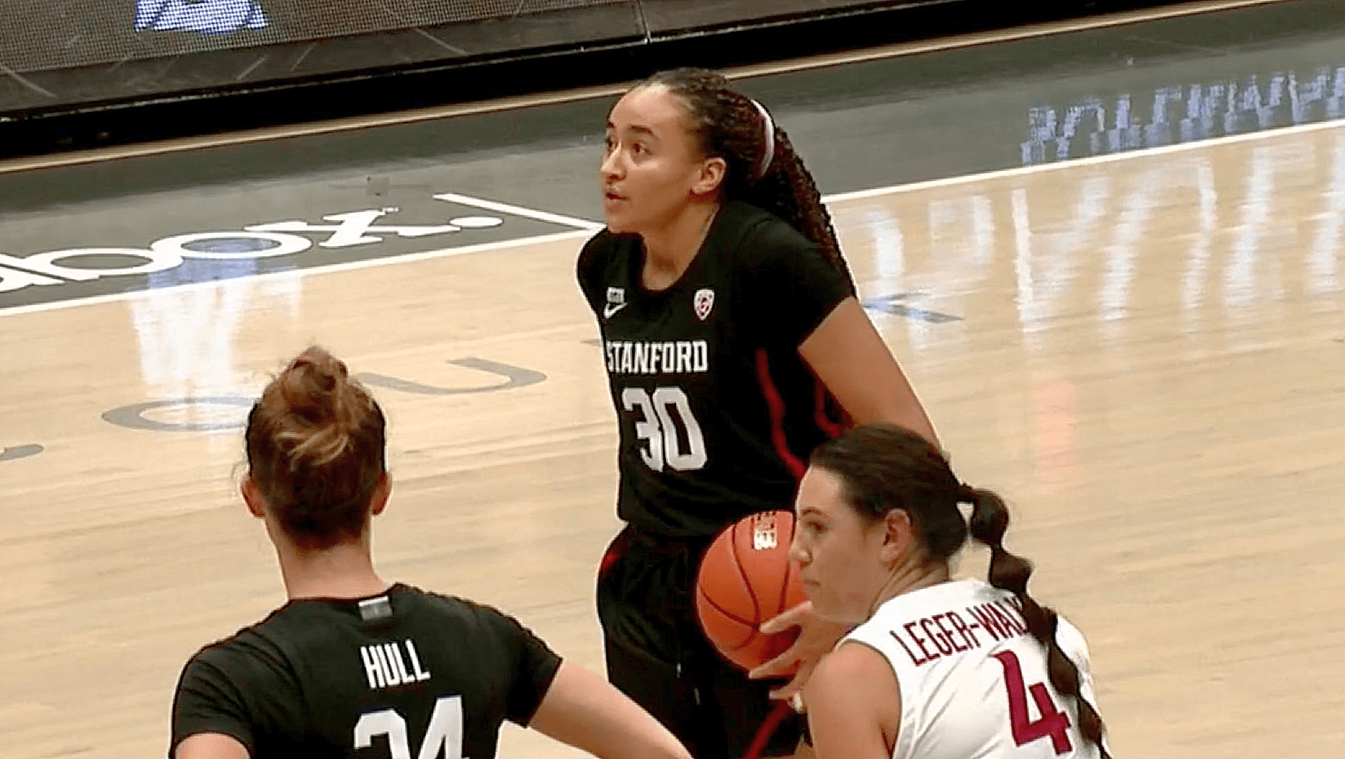 Stanford dominates Washington State in sweep, capping season series with a 77-49 win