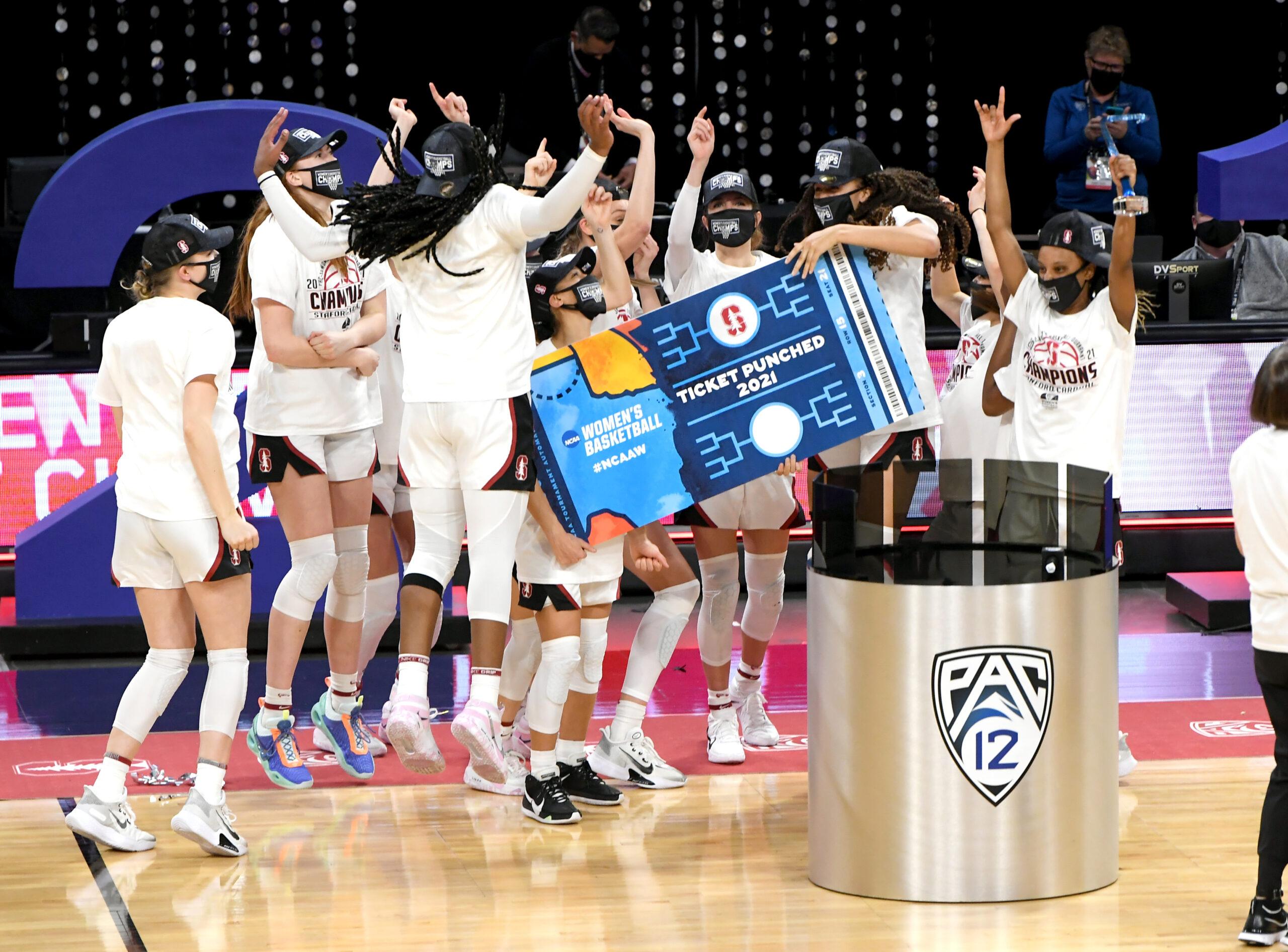 2021 NCAA DI women's basketball conference tournament champions