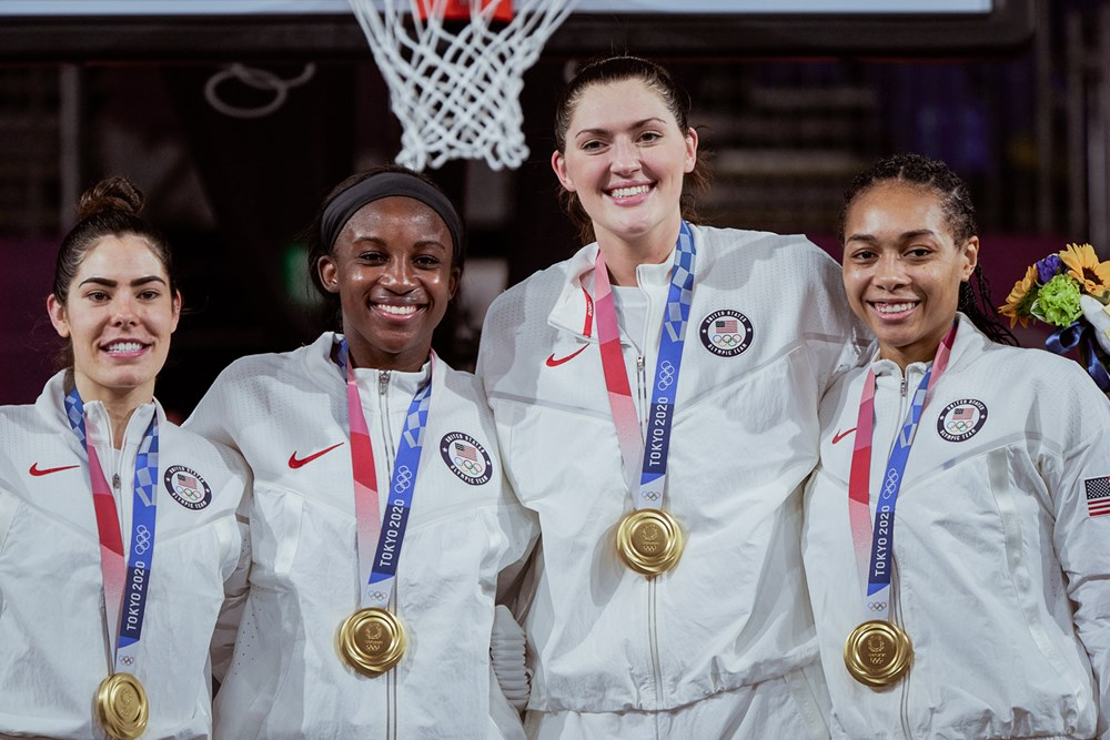 U.S. wins first-ever Olympic 3×3 gold in Tokyo