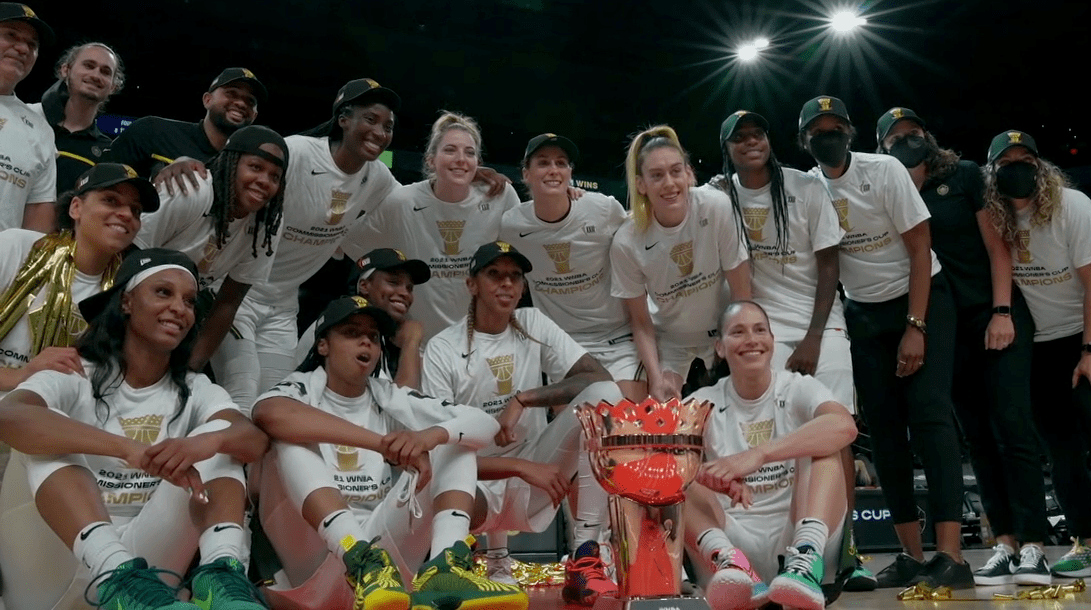 Seattle Storm wins inaugural Commissioner's Cup title, beats Sun 79-57