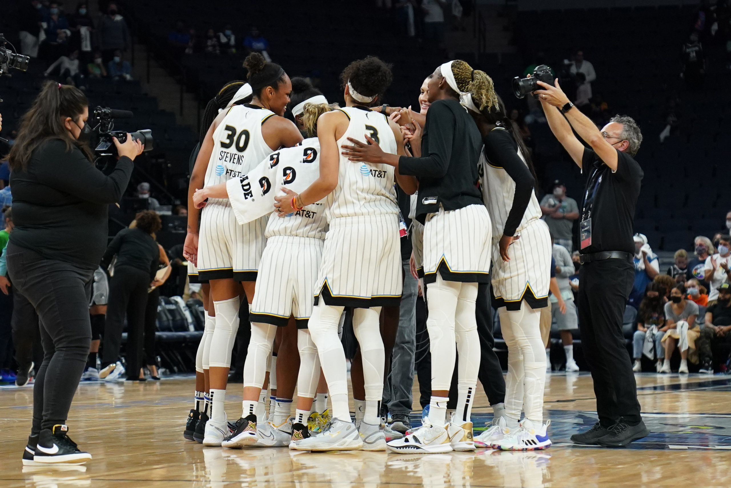 Minnesota falls in the second round of playoffs as Chicago outperforms the Lynx 89-76 to secure a semifinals spot
