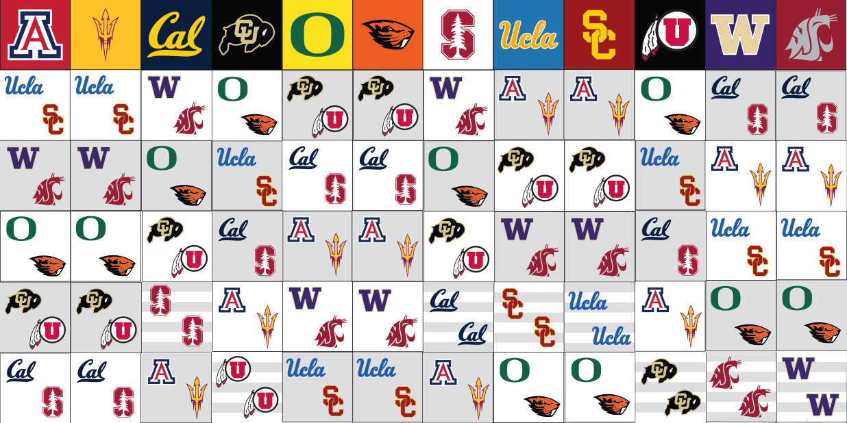 The Pac-12 announces conference matchups for the 2021-22 season