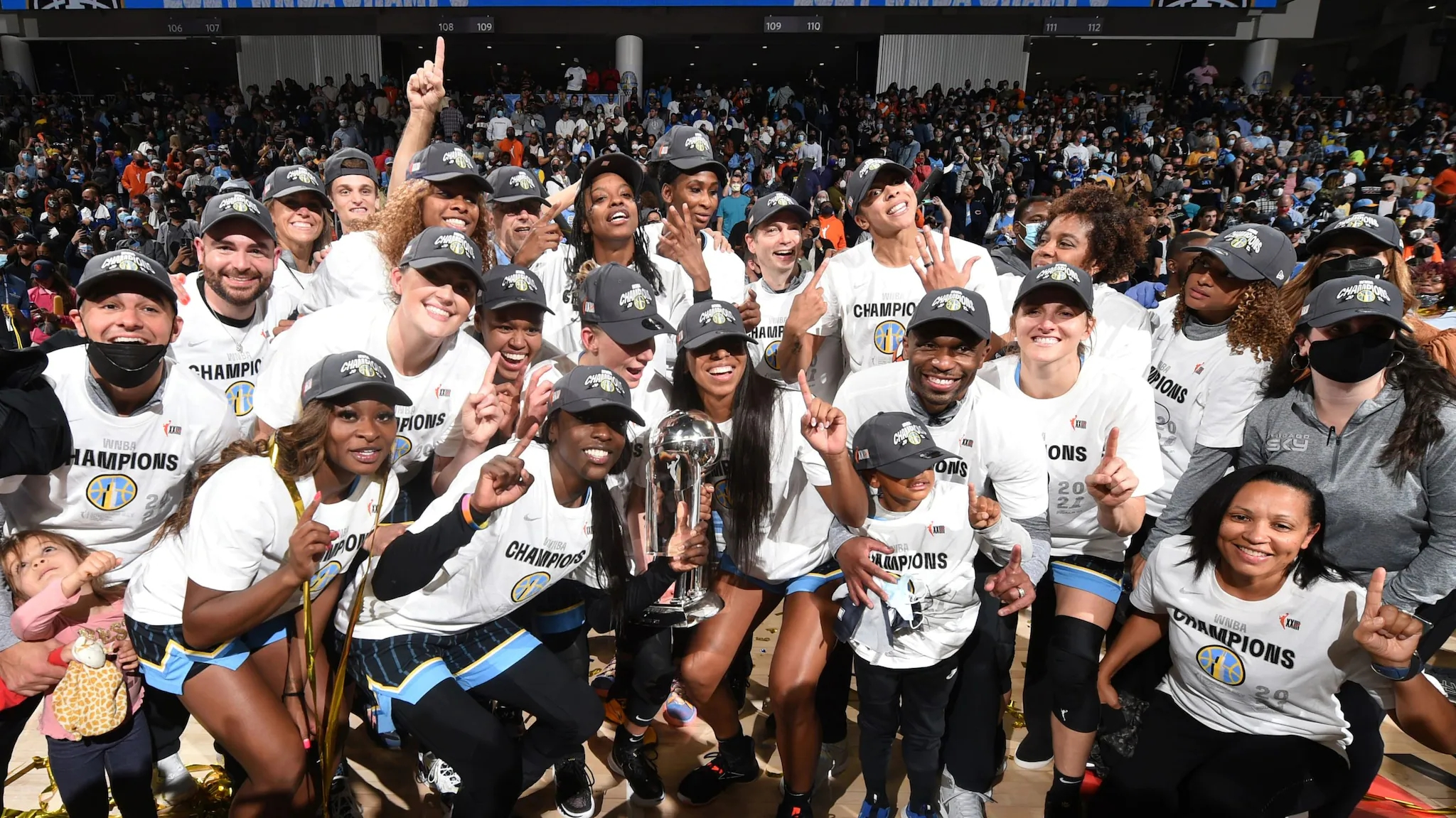 Chicago Sky earns first WNBA championship with 80-74 triumph over Phoenix Mercury