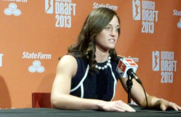 UConn's Kelly Faris selected eleventh by the Connecticut Sun