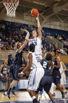 Duke center Allison Vernerey. Photo: Jon Gardiner/Duke Photography.